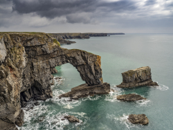 The Green Bridge of Wales, Pembroshire, Wales