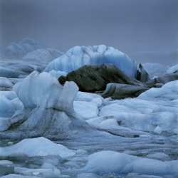 Glacier ice, Iceland