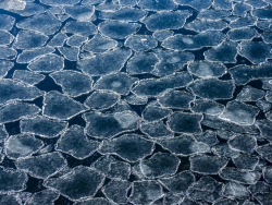 Ice floes, Sweden