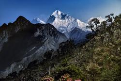 Mt Makalu, Nepal