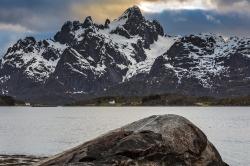Mt Trolltindan, Lofoten,  Norway