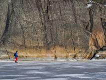 Long distance skating, Stockholm archipelago