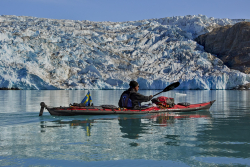 Sea kayaking, East Greenland