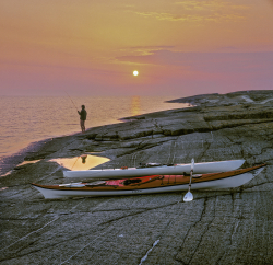 Sea kayaking in Stockholm arcipelago