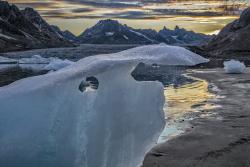 Karale Gletcher, East Greenland