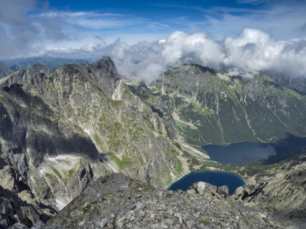 Dog av 1 000 metersfall i alperna